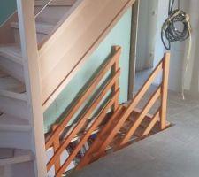 Escalier sous-sol et RDC