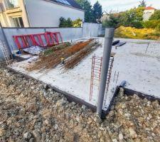 Enduit de fondation sur les murs enterrés