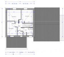 Plan étage, Version 2