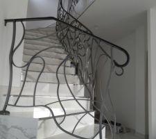 Escalier terminé !