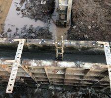 Mur du Vide sanitaire coulé