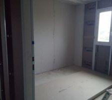 Placo jour 4: Chambre 1