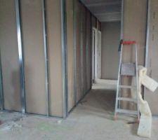Placo jour 4: Couloir