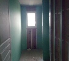 Placo jour 4: salle de bain