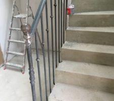 Rembarde d'escalier