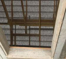 Cage d escalier du toit