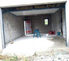 Pose des menuiserie - Garage