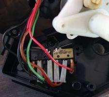 Cablage moteur du bypass
