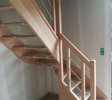 Escalier posé !