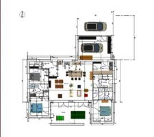 Plan dessus avec SweetHome3D