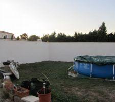 Crépi Mur clôture