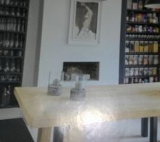 Idée relooking table Sam