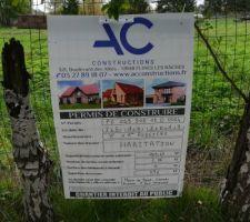 Affichage du permis de construire