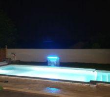La fontaine est fini et branché operationnel pour l année prochaine,vivement l ete prochain