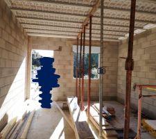 Installation pour plancher étage