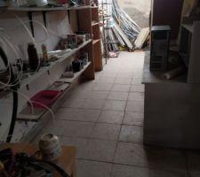 Nettoyage fond garage