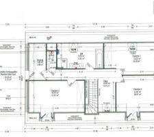 Plan définitif de l'étage par CID