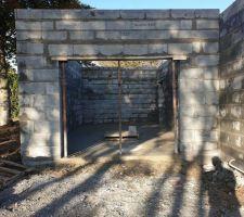 Construction du RDC