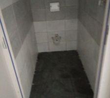 Faïence WC étage