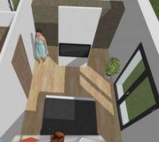 Vue suite parentale rdc Keyplan3D