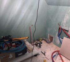 évacuation Douche et wc
