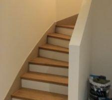 Escalier presque fini.
