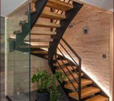 Choix en cours de l'escalier