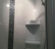 Petite salle d?eau enfin terminée