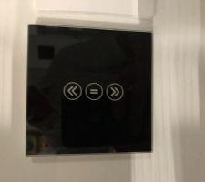 Essais de domotique avec des interrupteurs connectés.