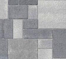Pavés commandés : Birkenmeier Il Campo Eco gris mix