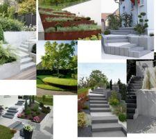 Inspirations escalier extérieur, aménagement des niveaux PINTEREST