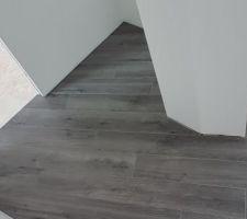 Vue du des coupes couloir/palier