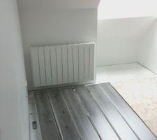 Stockage du parquet chambre 5