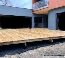 Terrasse et garde corps