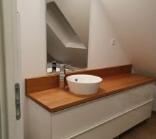 Salle de bain de l'étage