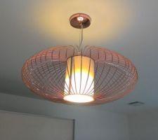 Les luminaires de la chambre d'amis
