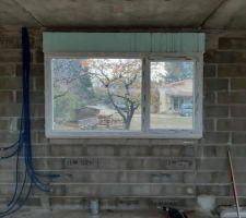 Vue de la fenêtre de la cuisine