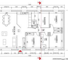 Plan final de notre maison