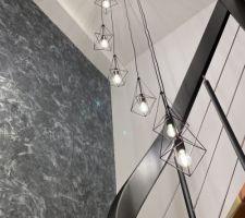 Suspension BIJOU 8 lampes COREP Leroy Merlin