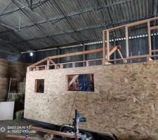 TinyHouse_Faitiere charpente basse