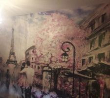 Chambre ado thème Paris