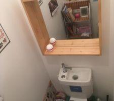 Réservoir de wc avec lave main intégré