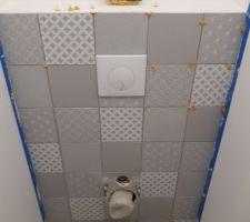Faïence fini dans les wc ;)