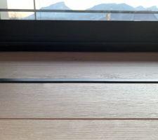 Profil alu encastré pour éclairage au sol