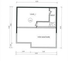 Premier plan de la maison