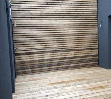 Patio - bardage et terrasse bois