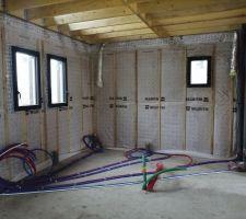 Isolation cellier/salle de bain/wc