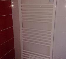 Radiateurs sèche serviettes à base soufflante Atlantic Doris digital 1750 watts