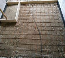 Préparation terrasse entrée