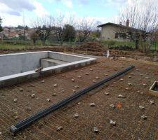 Préparation terrasse sud